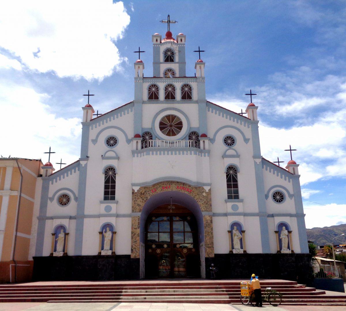 church, huaraz