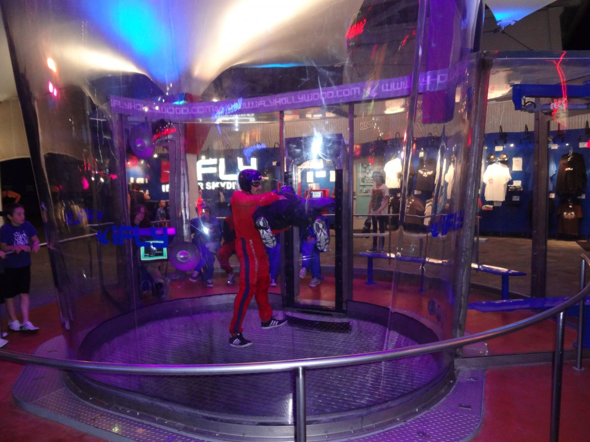 If you want to experience something new and magical then iFly Indoor Skydiving is the place for you.