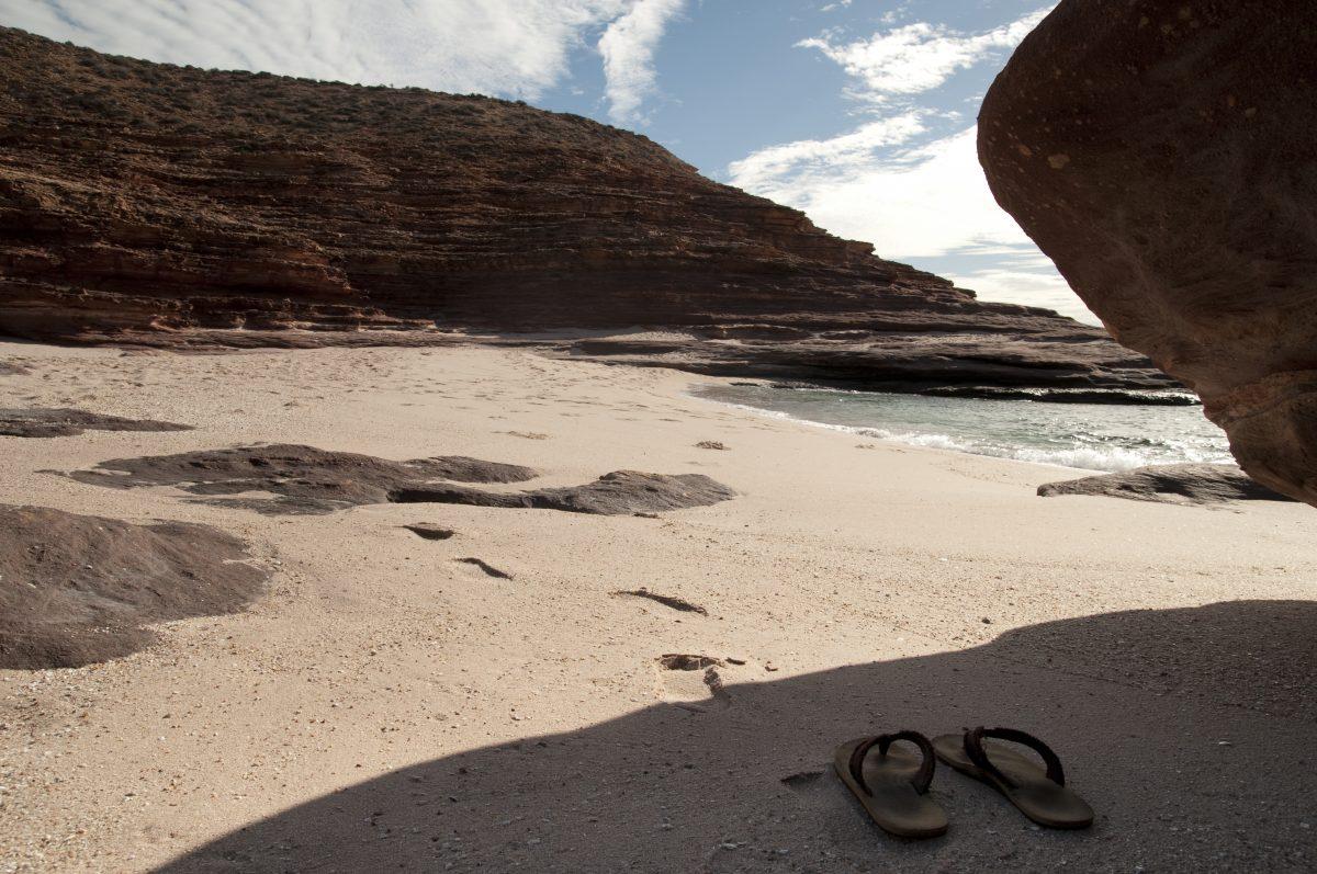 beach, kalbarri, australia