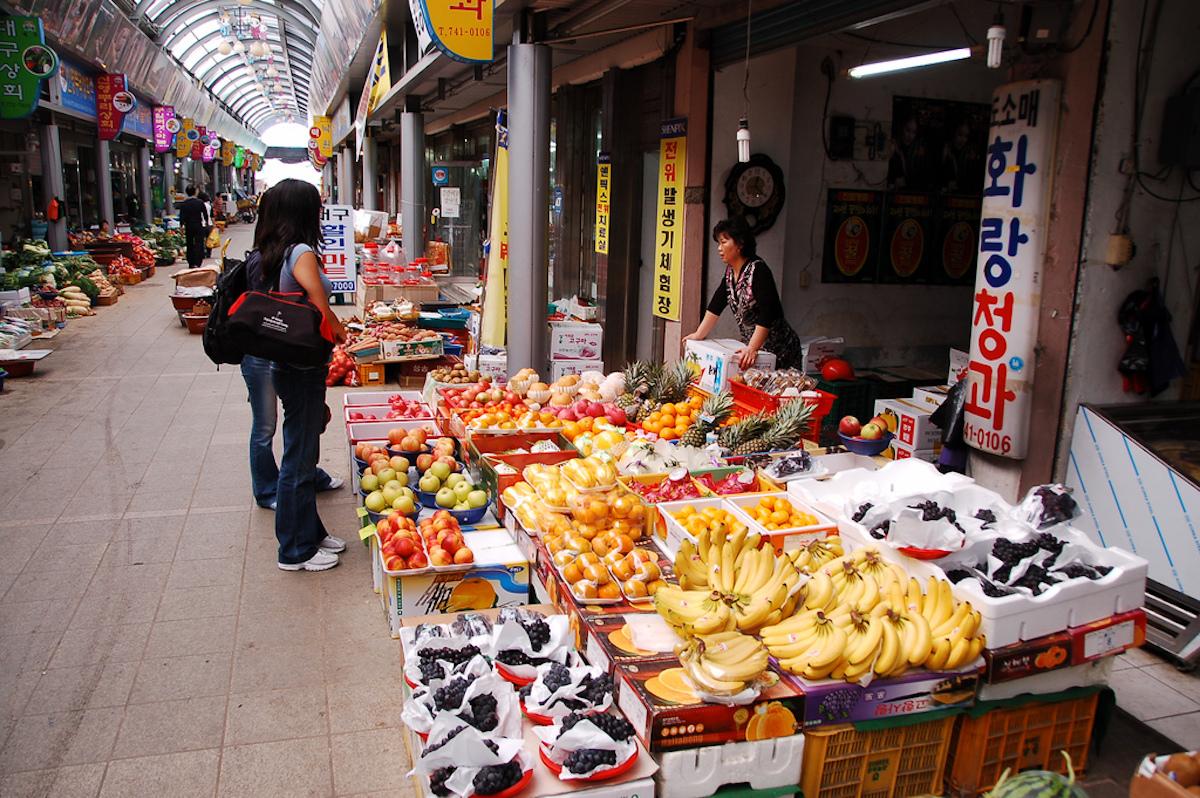 Gyeongju Seongdong Market, South Korea