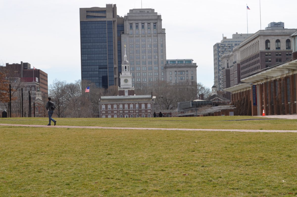 Long shot of Independence Hall in Independence National Historical Park in Philadelphia - 15 Best Things To Do In Philadelphia, Pennsylvania