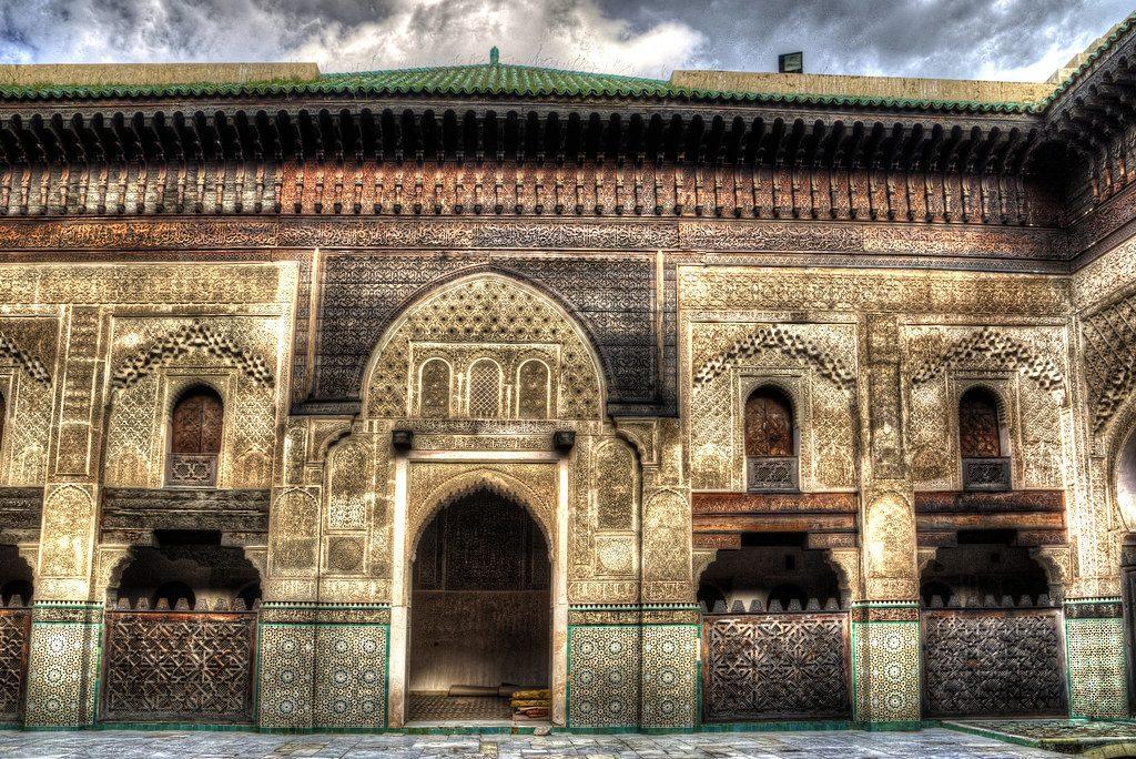 medersa bou inania, fes, morocco