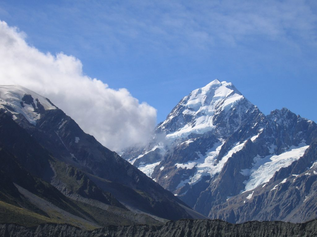 Mt Cook New Z