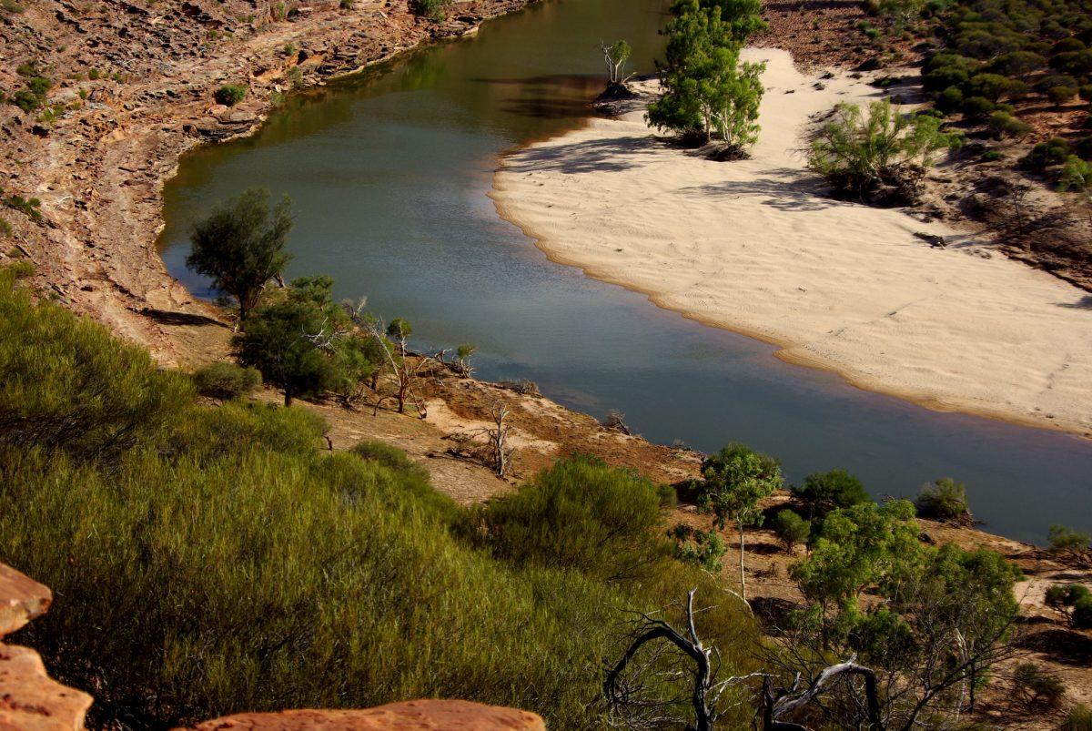 river, kalbarri, australia