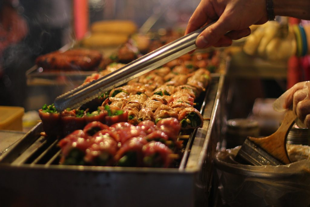 Yilan Night Market, Street Food