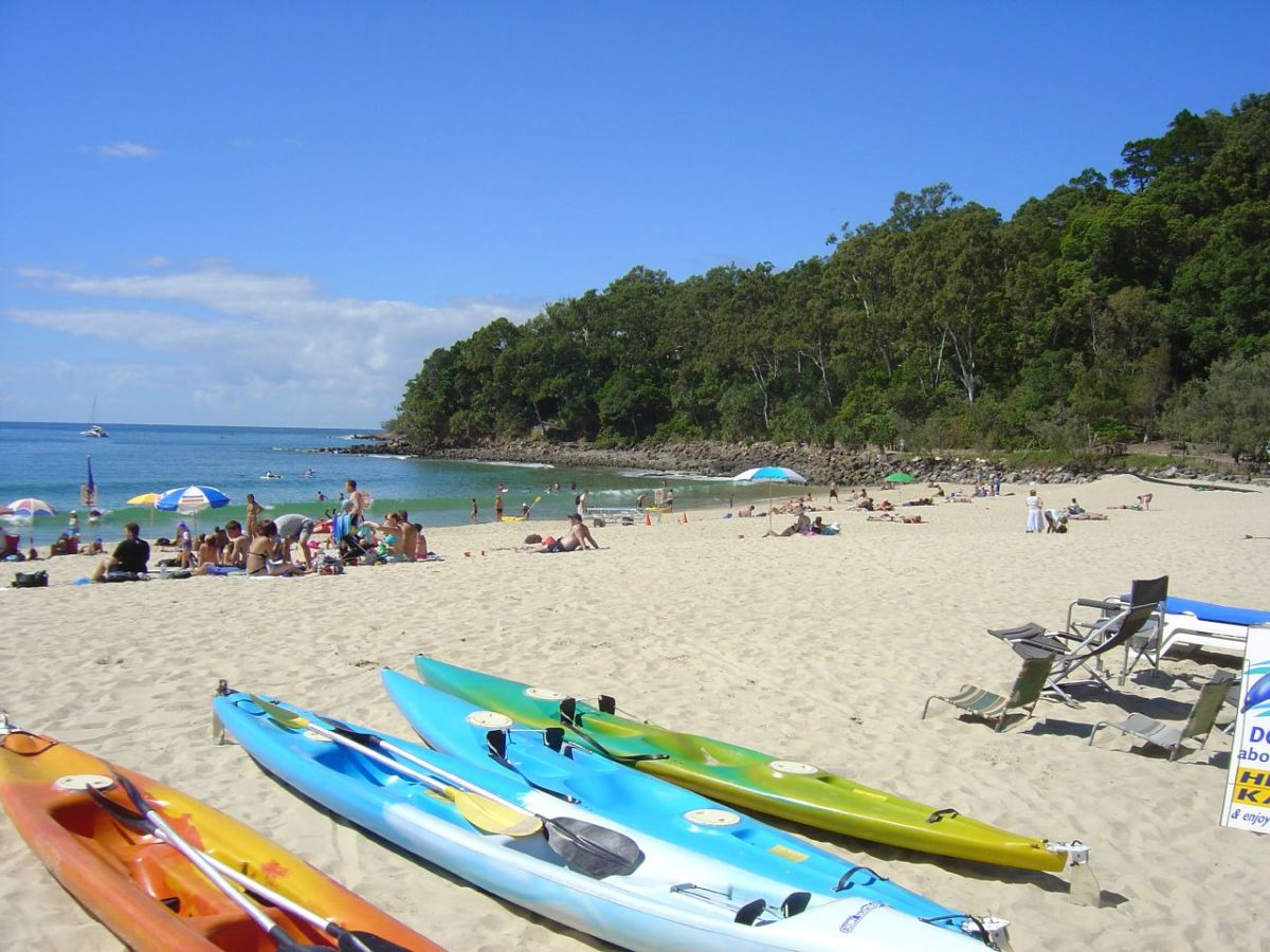 noosa main, beach, australia beaches