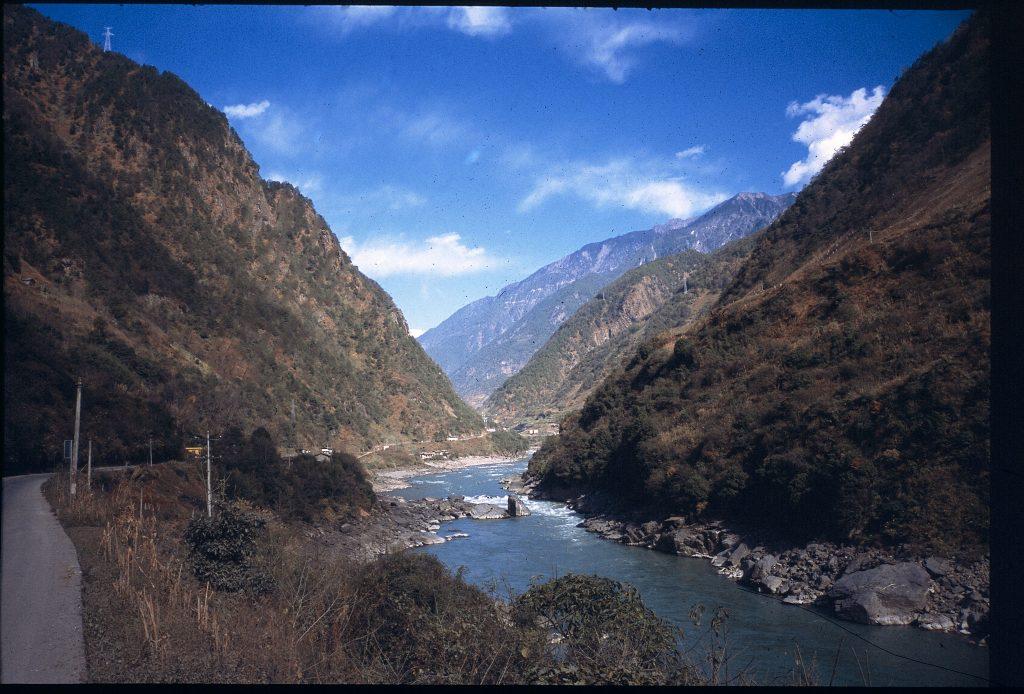 Nujiang, Bingzhongluo, Salween River