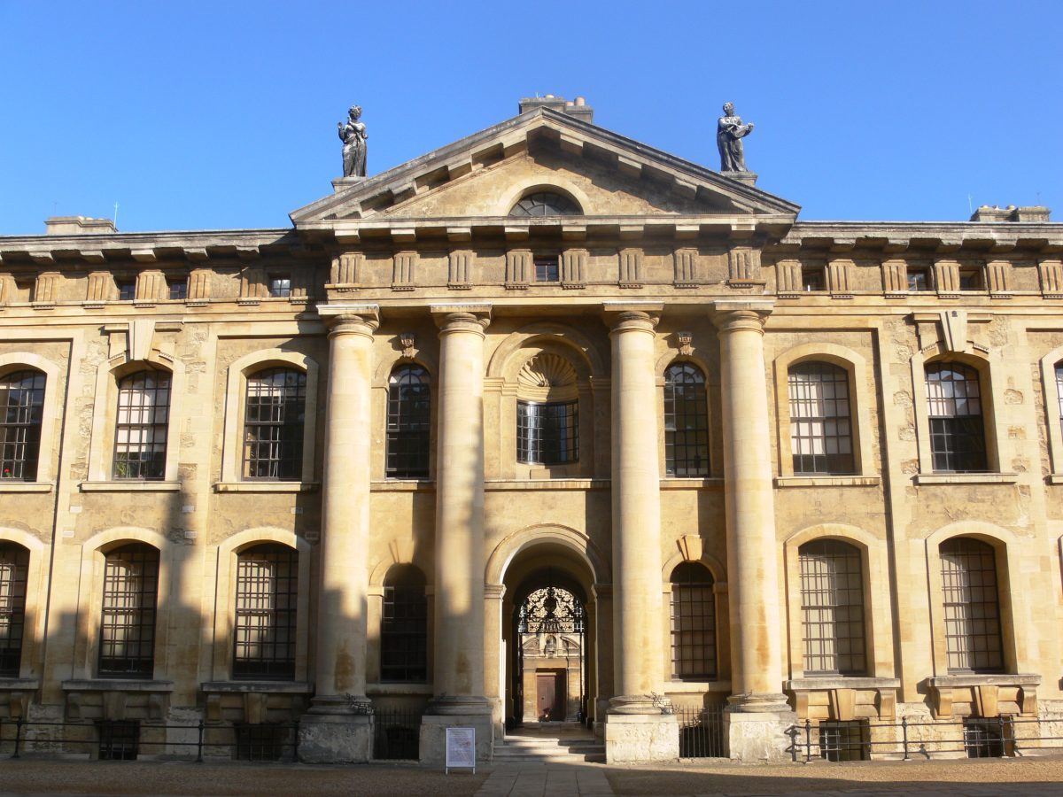 The lovely Bodleian Library