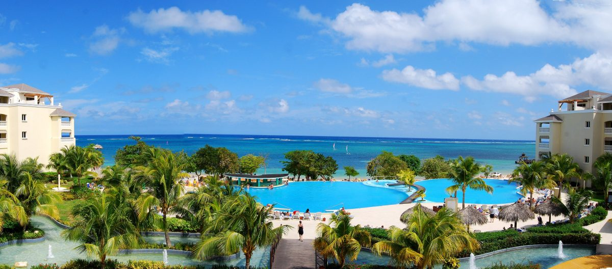 Montego Bay beach holiday