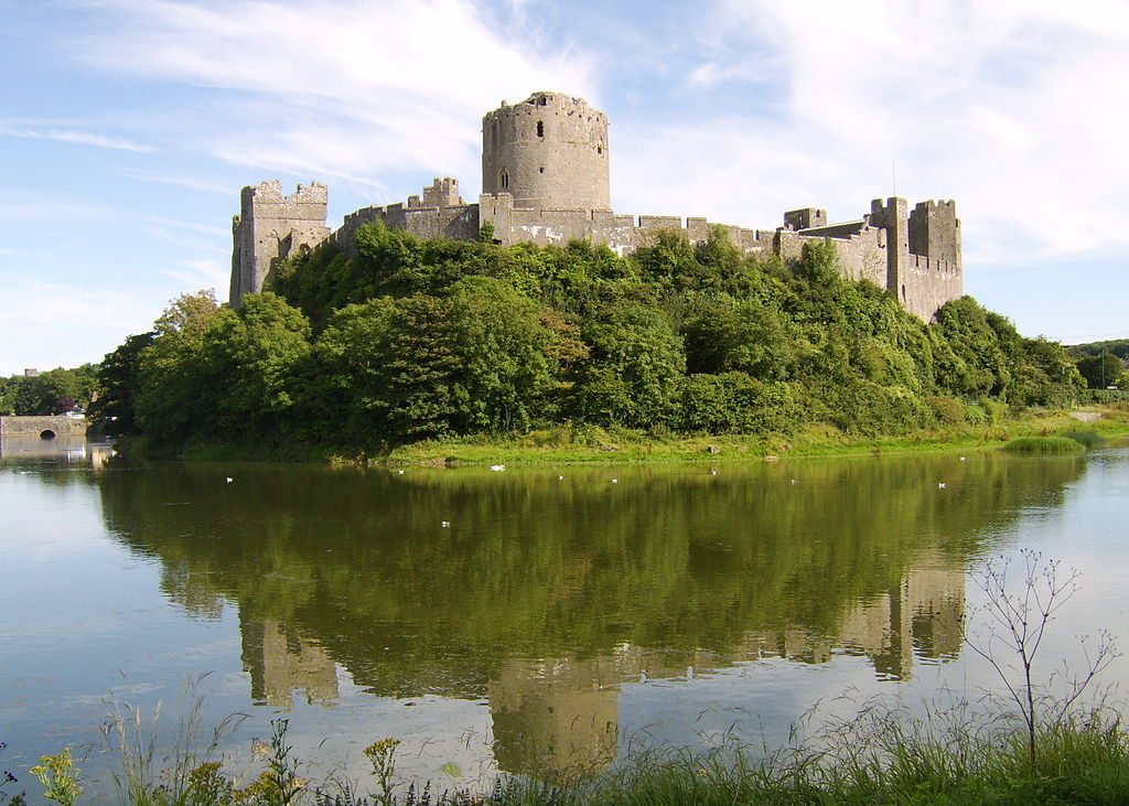 Pembroke Castle, situated in the county of Pembrokeshire, is the largest privately-owned castle in the country.
