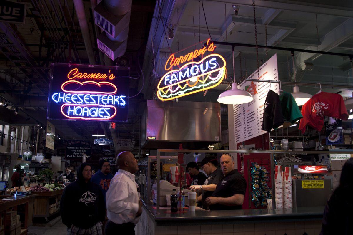 Philadelphia Reading Terminal Market Cheese steak 7138221275 - 15 Best Things To Do In Philadelphia, Pennsylvania