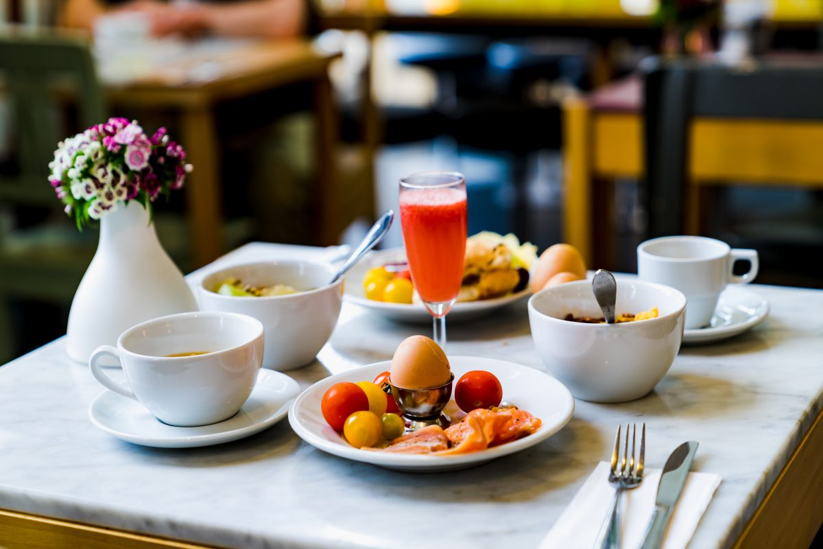Excellent Breakfast at Comfot Inn