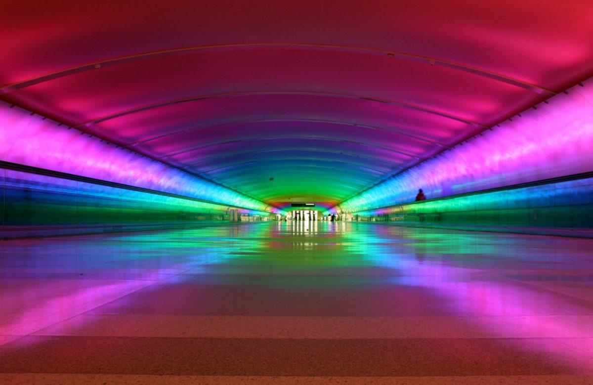 The Beautiful Tunnel At McNamara Terminal