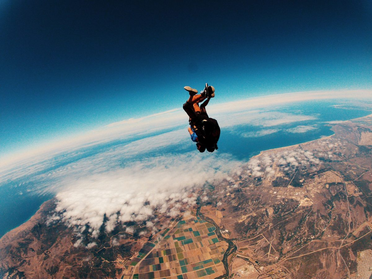 Thrilling Sky Diving