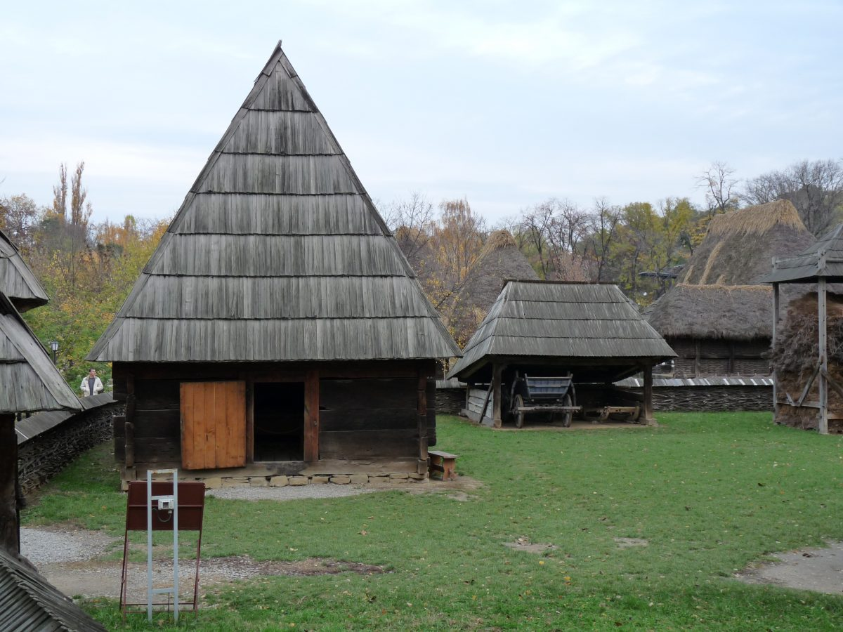 "Placed on 100,000 square meters of land, the ""Dimitrie Gusti"" National Village Museum is the largest open-air museum in the Balkans."