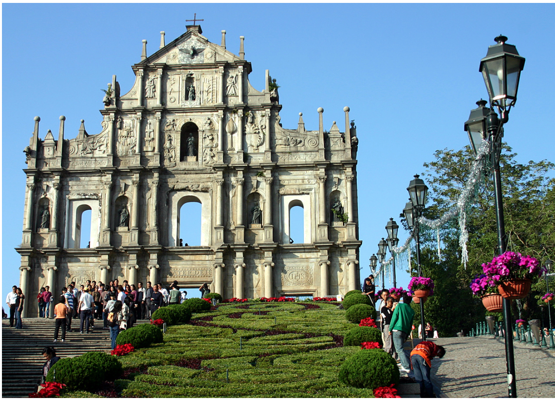 Take a step back into the past by exploring the historic beauty of the Ruins of St Paul.