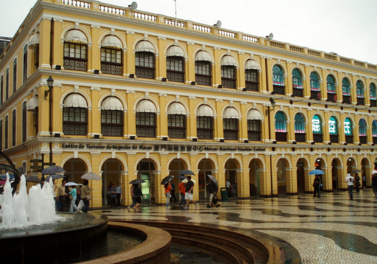 Wander down the cobbled streets of the European-inspired Senado Square and take in the stunning scenery of the architecture that populates the periphery.