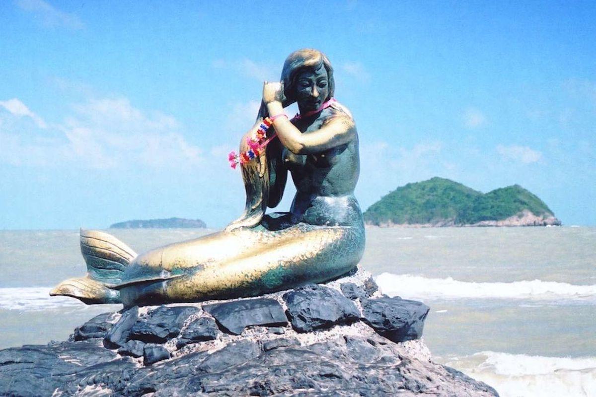Golden Mermaid, Samila Beach, Hat Yai