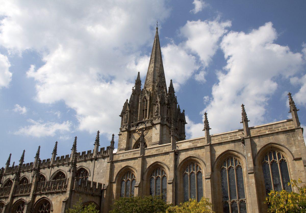 The beautiful university church