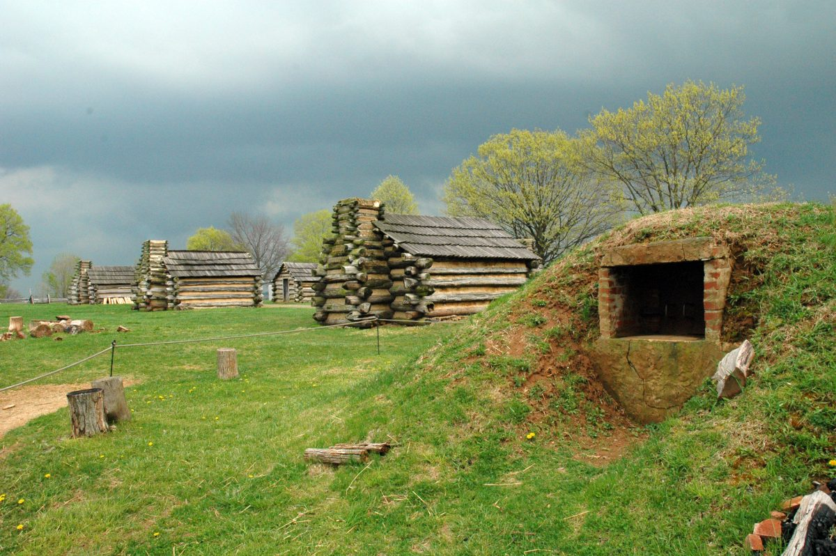 Valley Forge oven and cabins - 15 Best Things To Do In Philadelphia, Pennsylvania