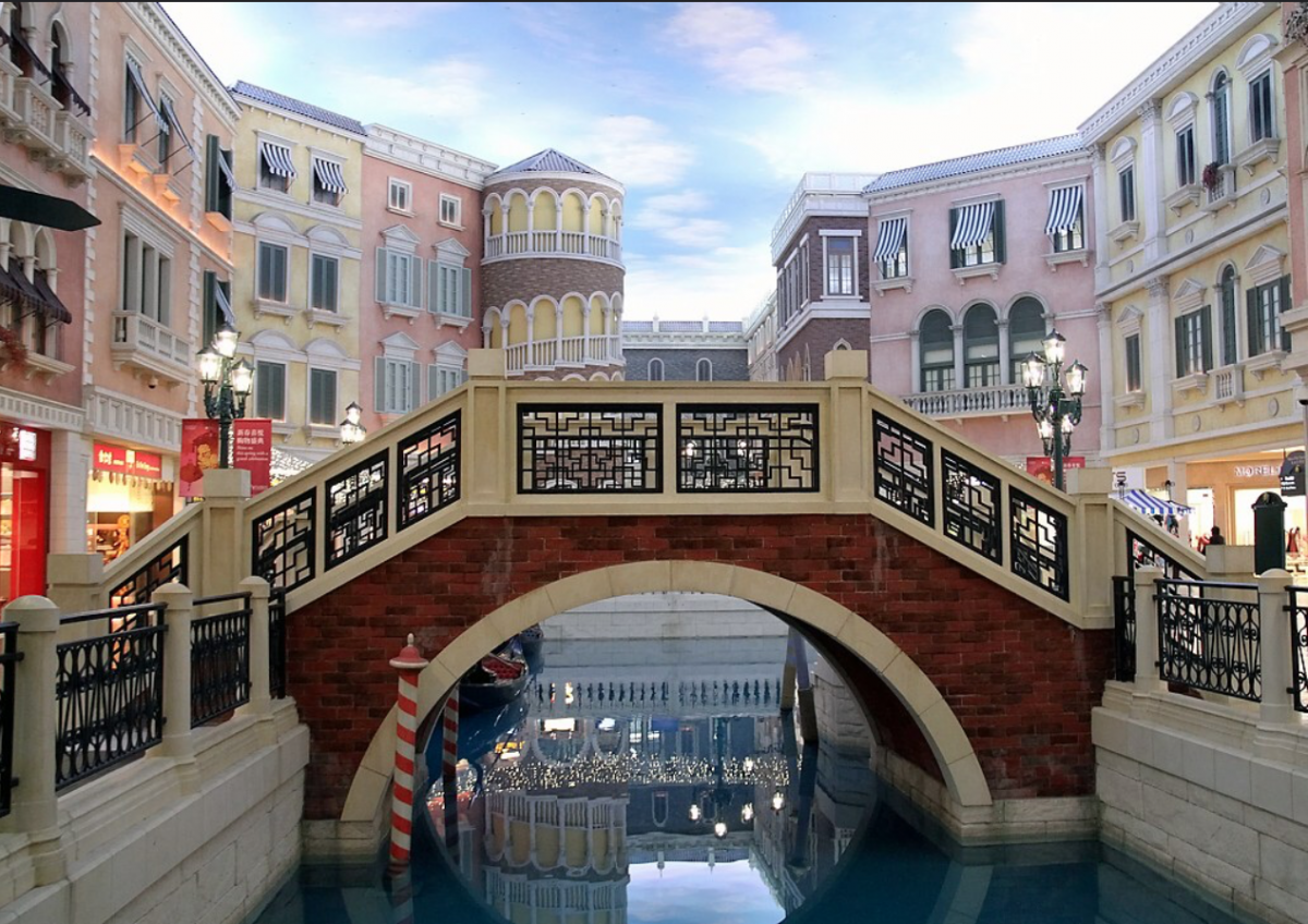 The Venetian Macao is a luxury resort and casino that is modelled after its sister casino resort, The Venetian Las Vegas.