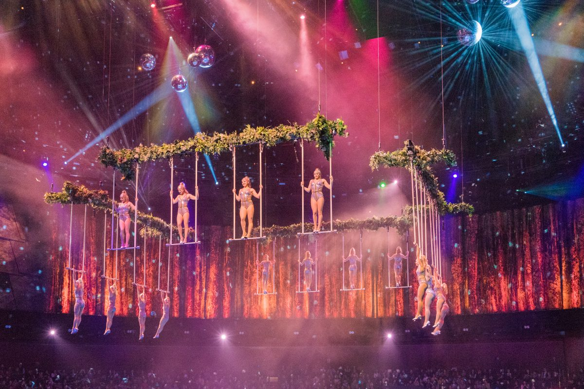 Seen by over 2 million spectators, The House of Dancing Water is a spectacular water-based acrobatic stage production performed at the City of Dreams Resort.