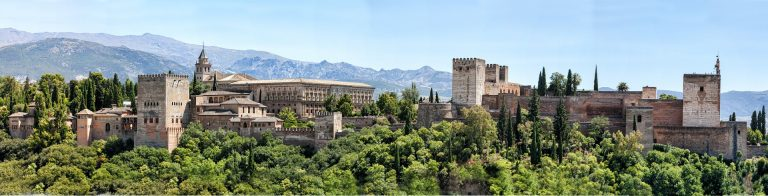 La Alhambra from a distance