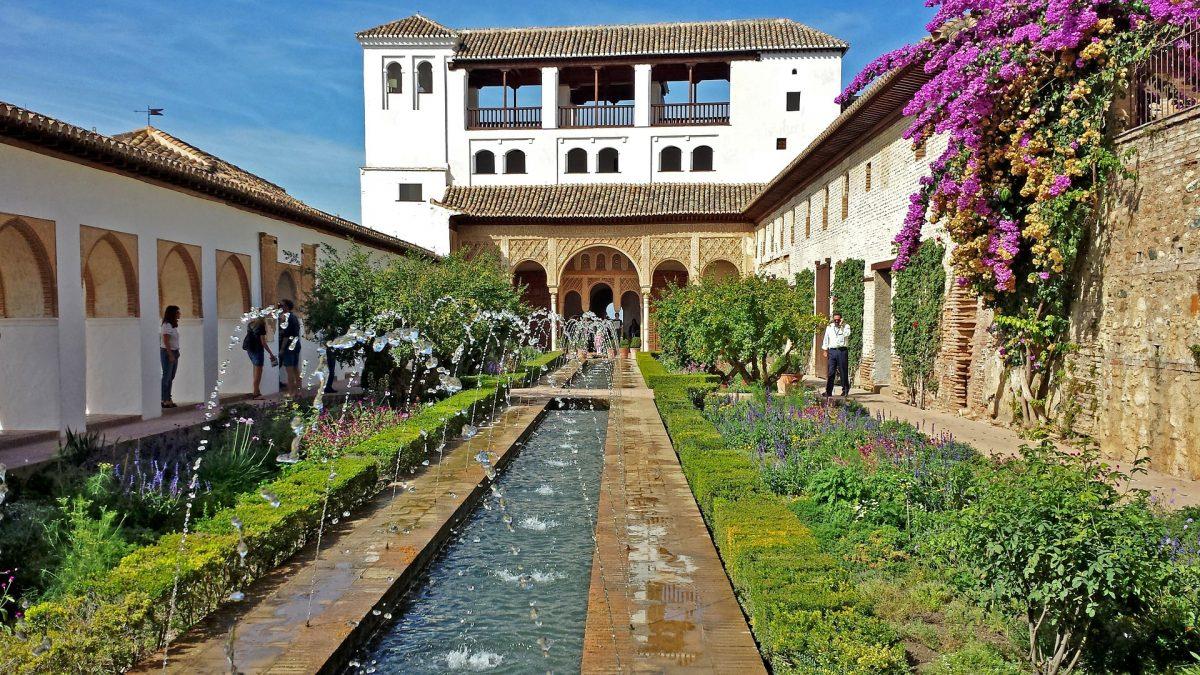 Generalife Garden Alhambra