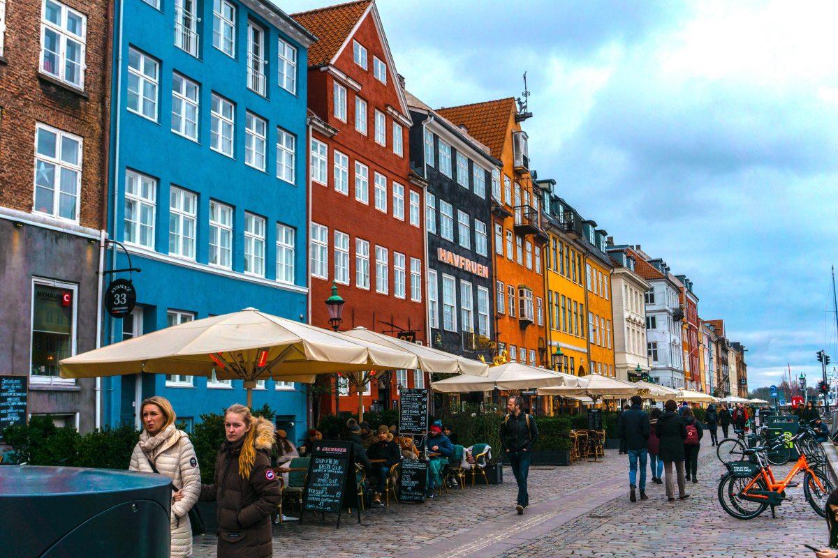 Copenhagen shopping district