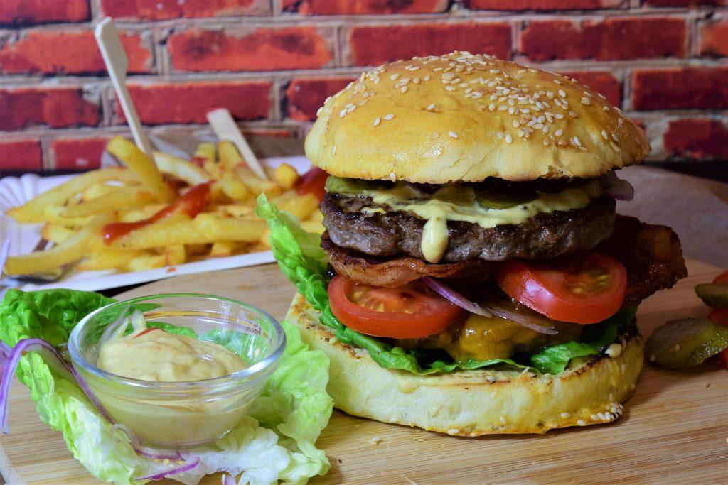 burger, food truck