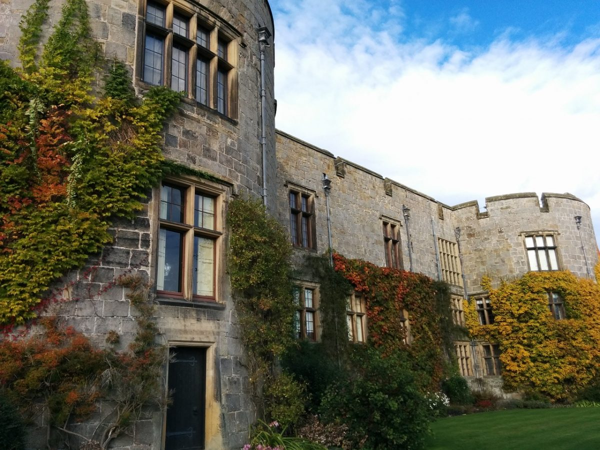 Chirk Castle was first constructed in 1295 by Roger Mortimer de Chirk. It's part of King Edward I's chain of fortresses across the north of Wales.