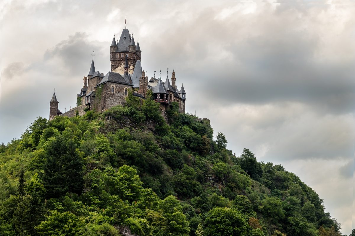 Sometimes the view from a castle is as amazing as the castle itself and Cochem Castle is the perfect example.