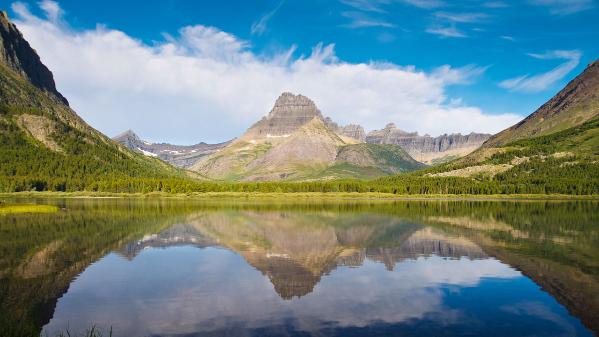 Glacier National Park in Summer