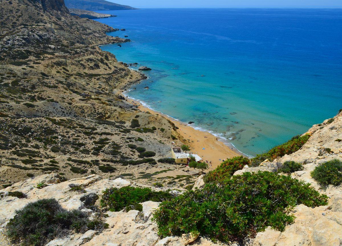 Red Beach Crete, Greece