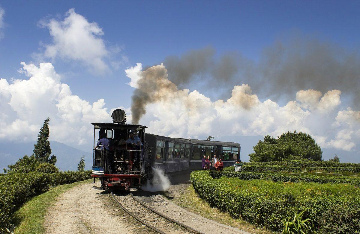 Toy train at darjeeling