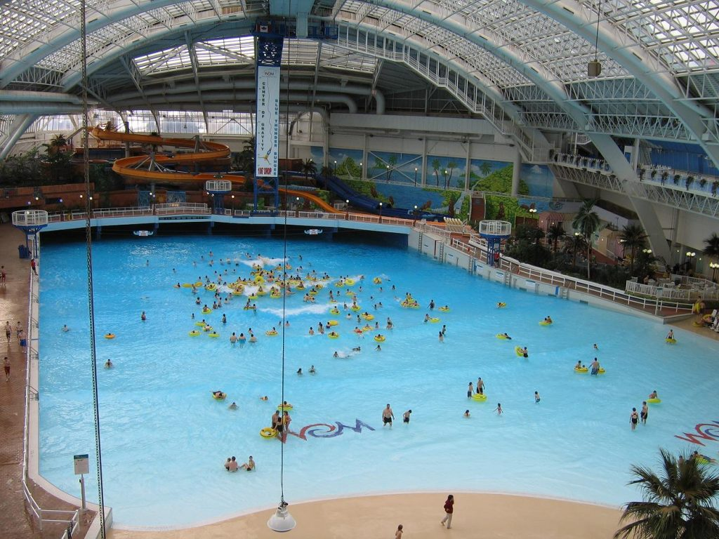 Playful waterpark