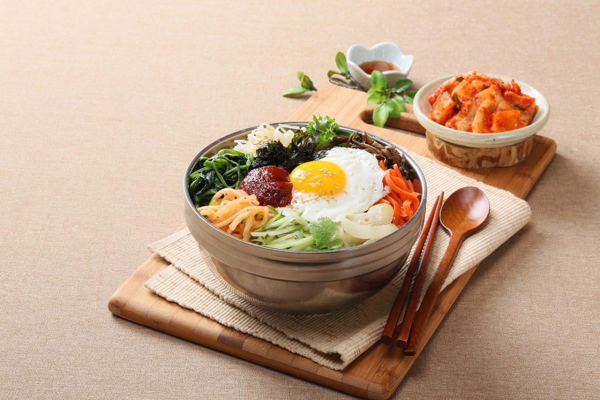 Bibimbap, Korean Mixed Rice, Korean Food