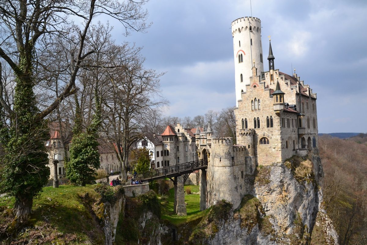 "Often called the ""fairy-tale castle of Württemberg"", Lichtenstein Castle is a neo-Gothic style building located in the Swabian Jura of southern Germany."