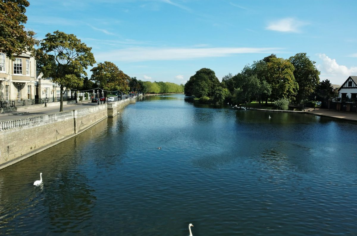 ouse river, york, england