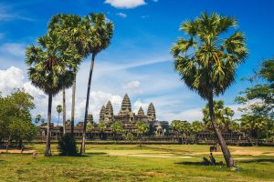 Angkor Wat during dry season