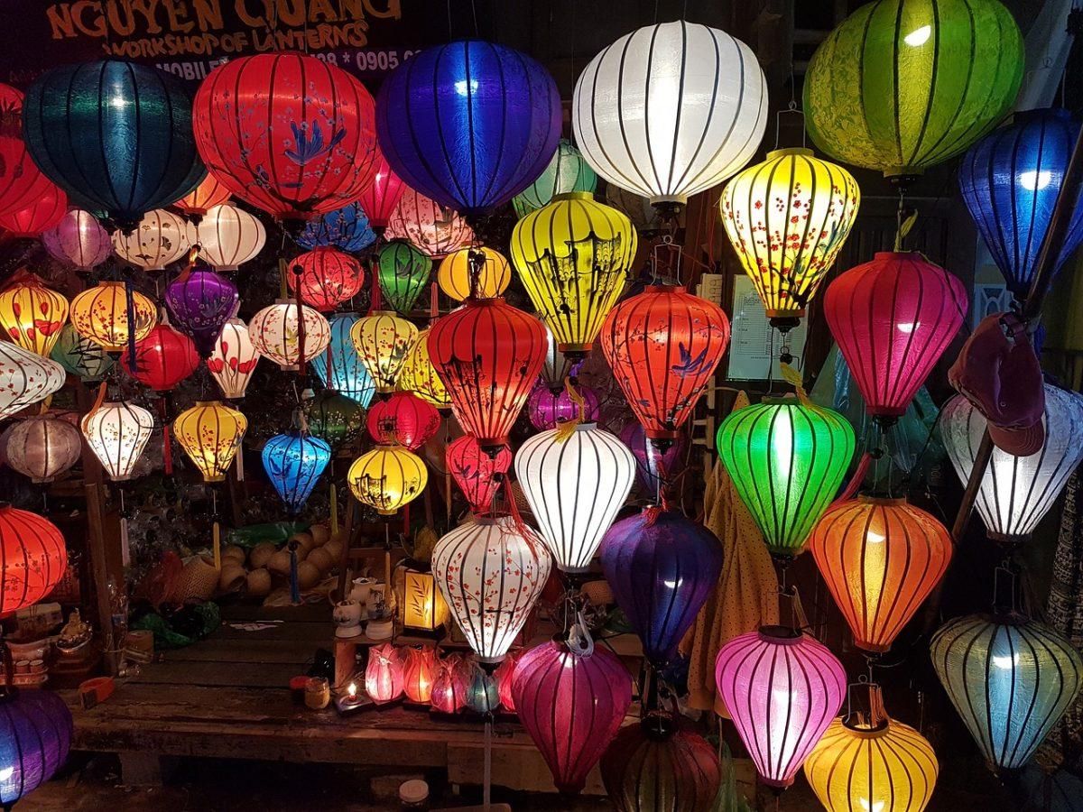 Lantern market, Hoi An Vietnam