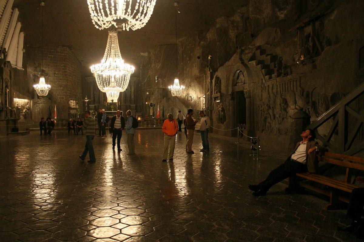 Visit The Famous Wieliczka Salt Mine