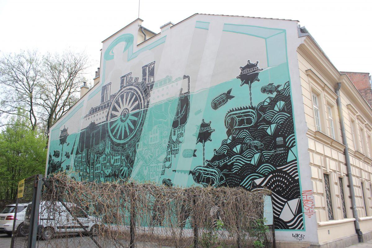 Fantastic Street Art Of Krakow