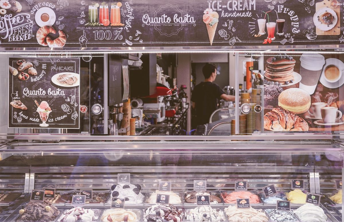 gelato, italian desserts