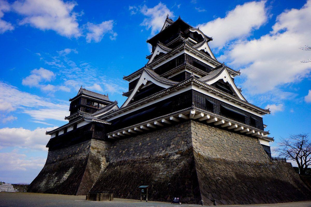 Kumamoto Castle, Fukuoka, Japan