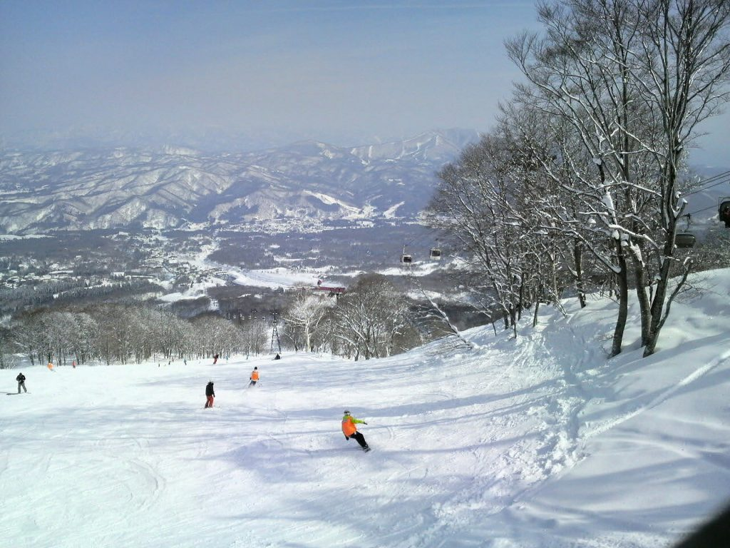 Skiing, Japan Ski Resorts, winter
