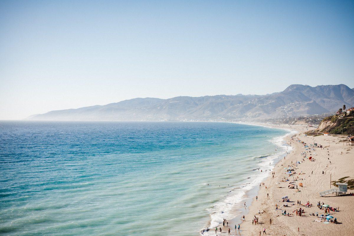 Zuma beach Malibu, California