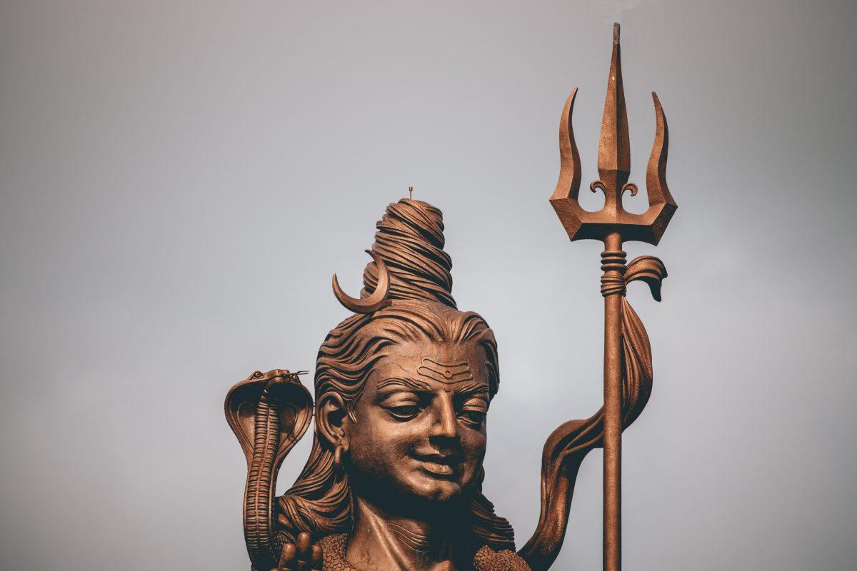 Shiva's Statue, Grand Bassin, Mauritius