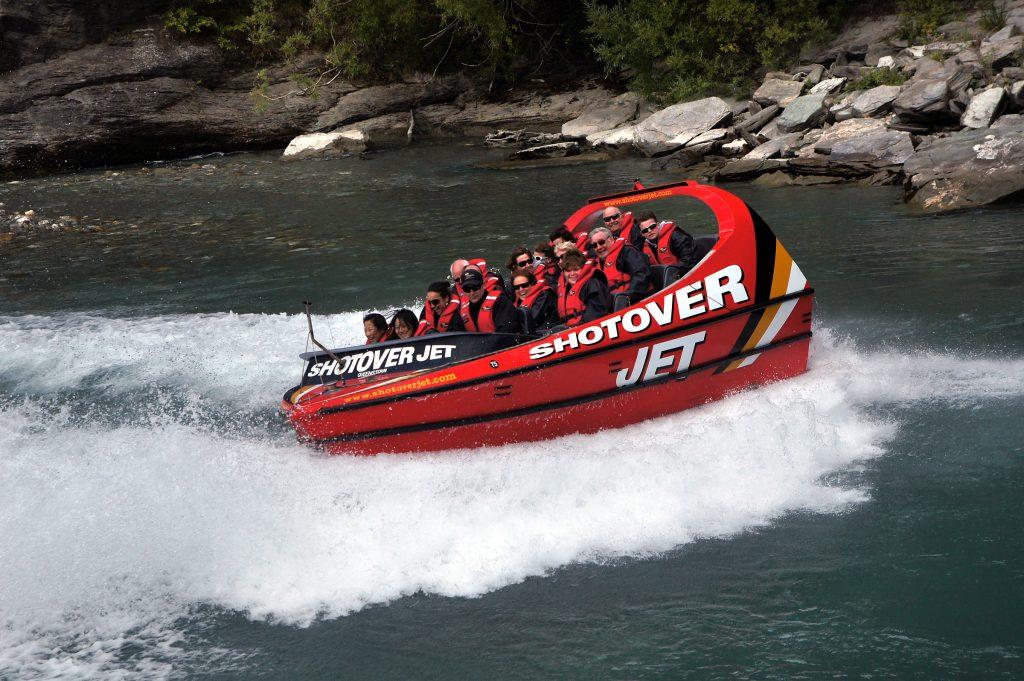Jet boat NZ
