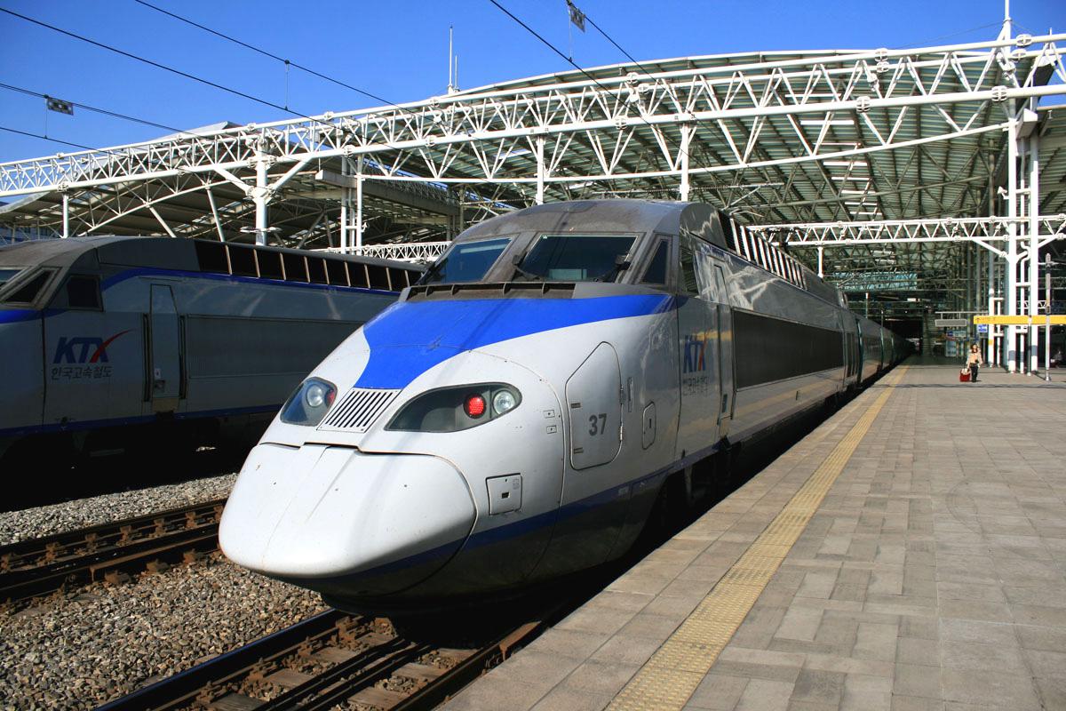 KTX Train, Seoul, South Korea